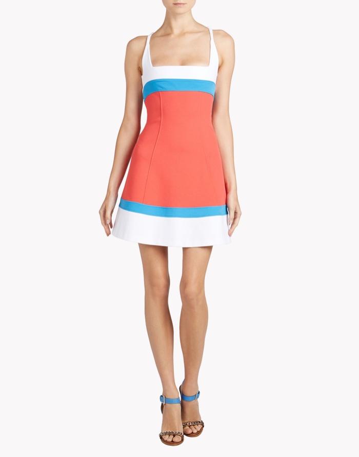 DSquared2 Color Block Dress