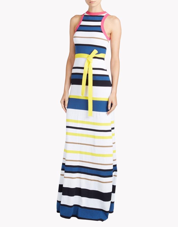 DSquared2 Stripe Long Dress