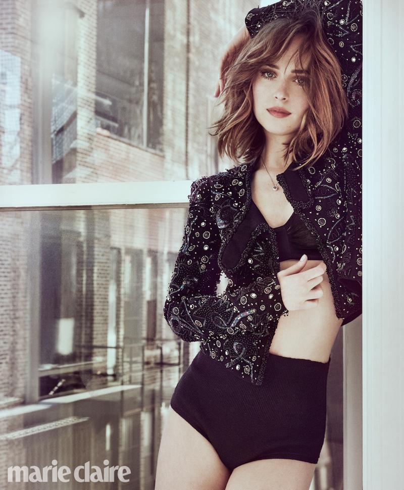 Dakota Johnson Marie Claire March 2016 Photoshoot Fashion Gone Rogue