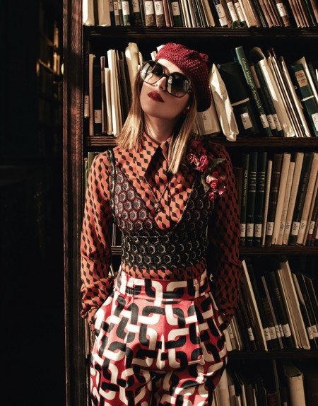 Dakota Johnson Isn't Afraid to Mix Prints in The Edit