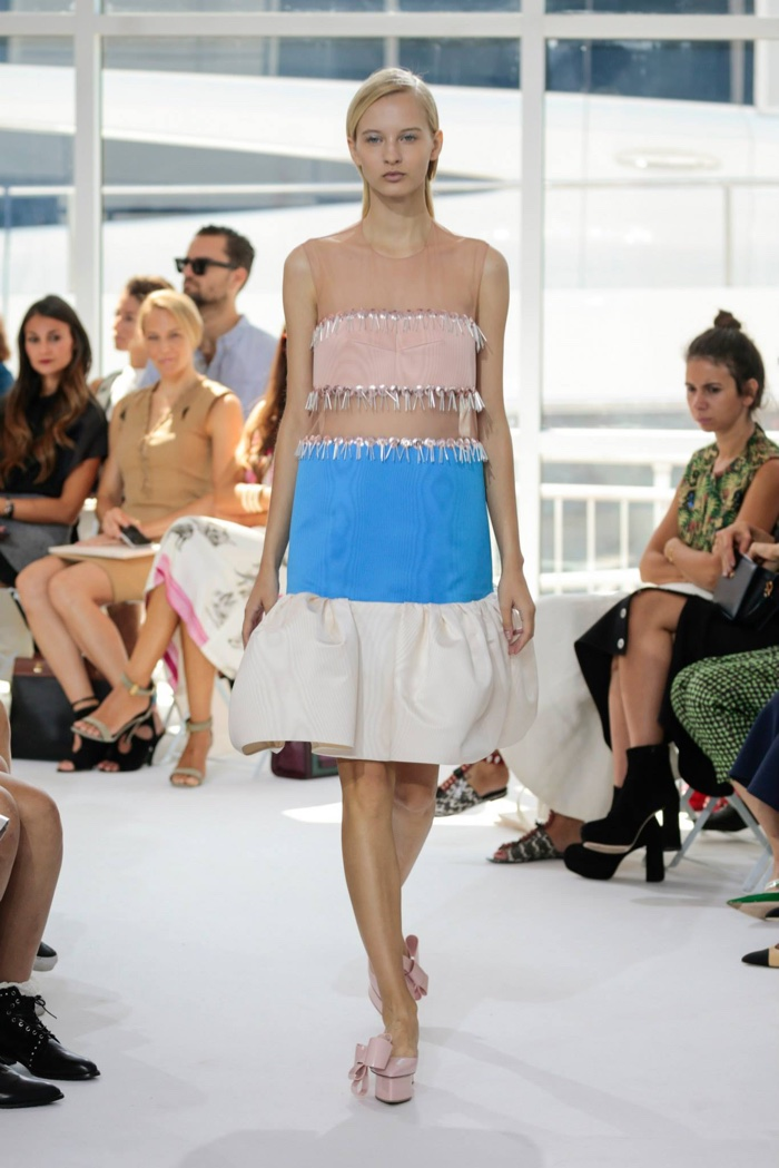 A look from Delpozo's spring 2016 collection