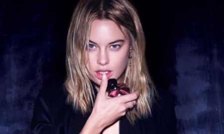 Camille Rowe stars in Dior Poison Girl perfume campaign