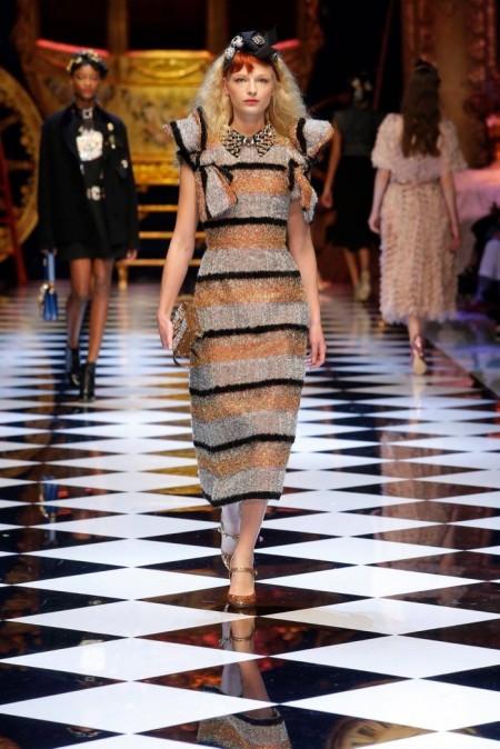 Dolce & Gabbana Fall 2016 | Milan Fashion Week