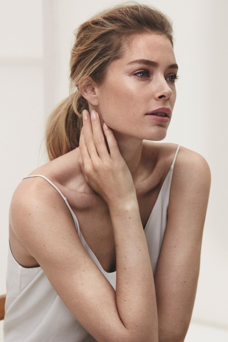 Doutzen Kroes for Massimo Dutti New York Collection