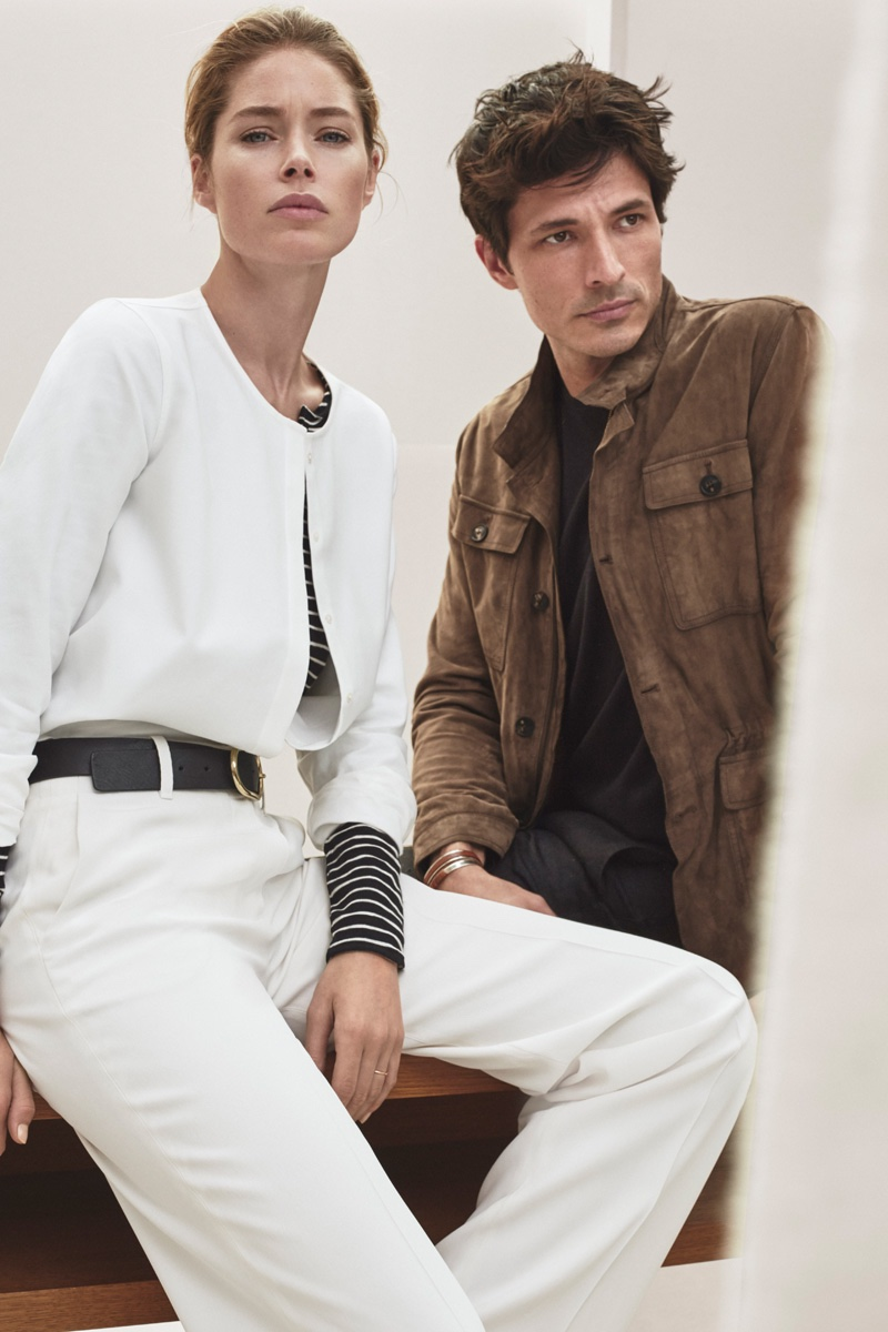 Doutzen Kroes and Andres Velencoso star in Massimo Dutti New York's spring 2016 campaign