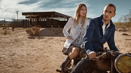 Dylan Penn Joins Brother Hopper in Fay's Spring 2016 Campaign