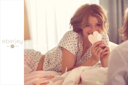 XO: Eberjey Launches Valentine's Day Lingerie Campaign