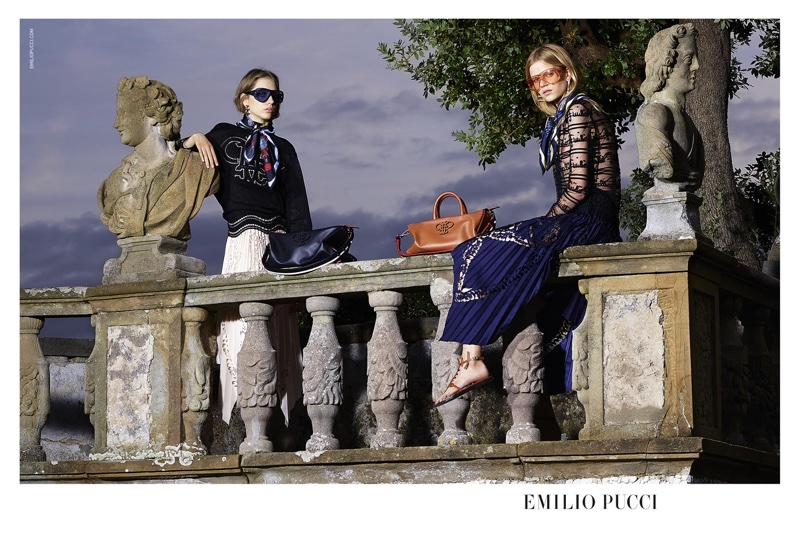 Emilio Pucci Gets a New Look with Spring 2016 Campaign