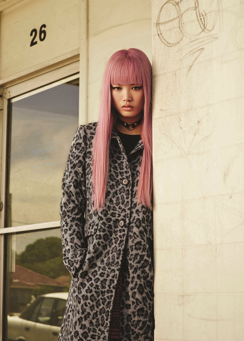 Fernanda Ly Brings A Pop Of Pink To Marcs Fall 2016 Campaign