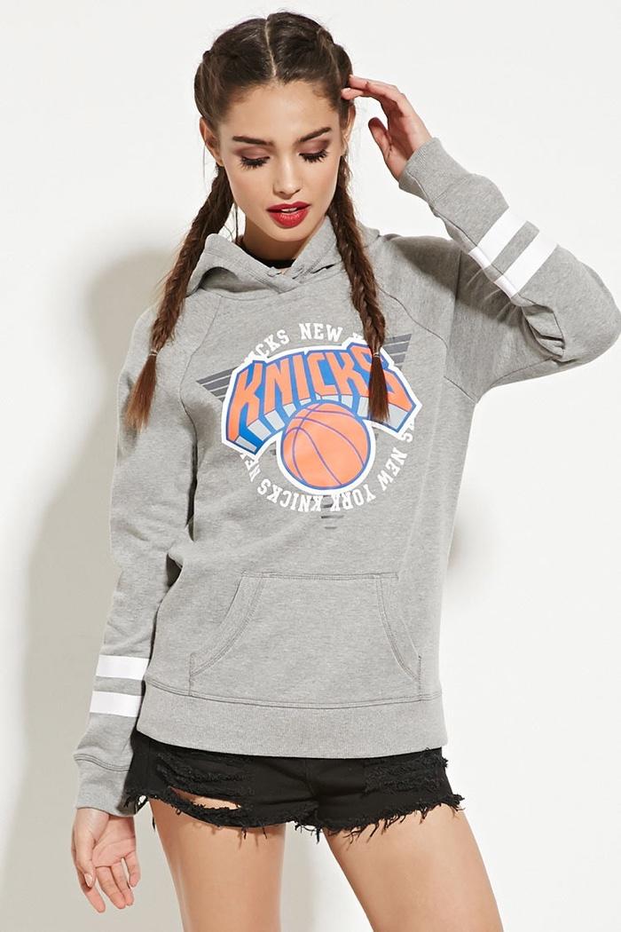 Forever 21 Miami Heat Sweatshirt · Forever 21 New York Knicks Hoodie a2f3248dbb