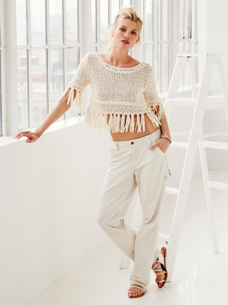 Free People On the Fringe Pullover and Dickies Wyatt Carpenter Pant