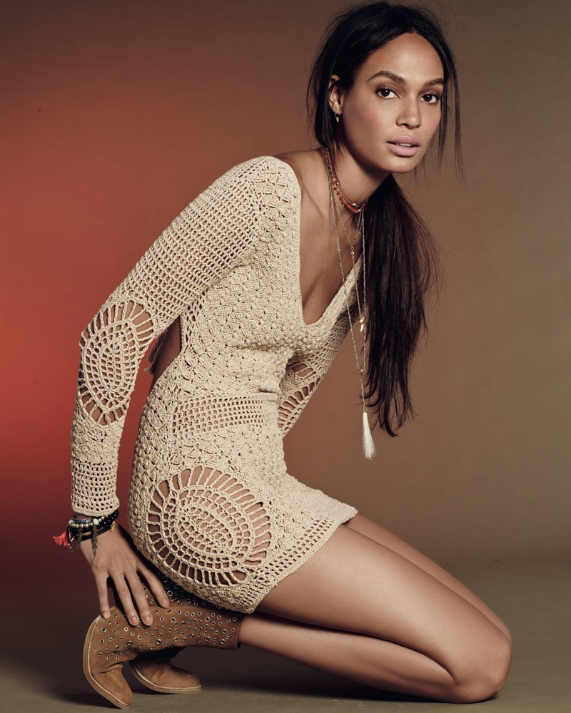 Joan Smalls, Tali Lennox Are Boho Babes In Free People`s February Catalog