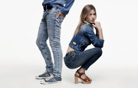 Georgia May Jagger Rocks Denim in Pepe Jeans' Spring 2016 Ads