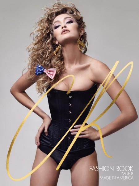 Gigi Hadid Gets Patriotic on CR Fashion Book #8 Cover