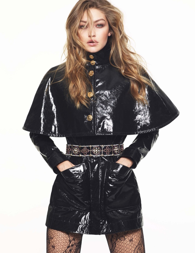 Gigi Hadid Works It in Chanel Looks for Vogue Paris
