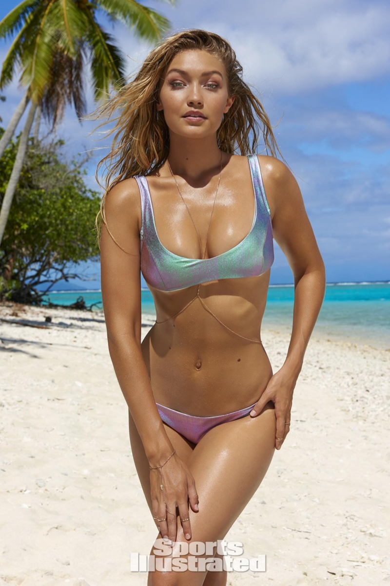 Gigi Hadid Sports Illustrated 2016 Swimsuit Issue Photos