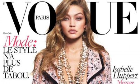 Gigi Hadid on Vogue Paris March 2016 cover