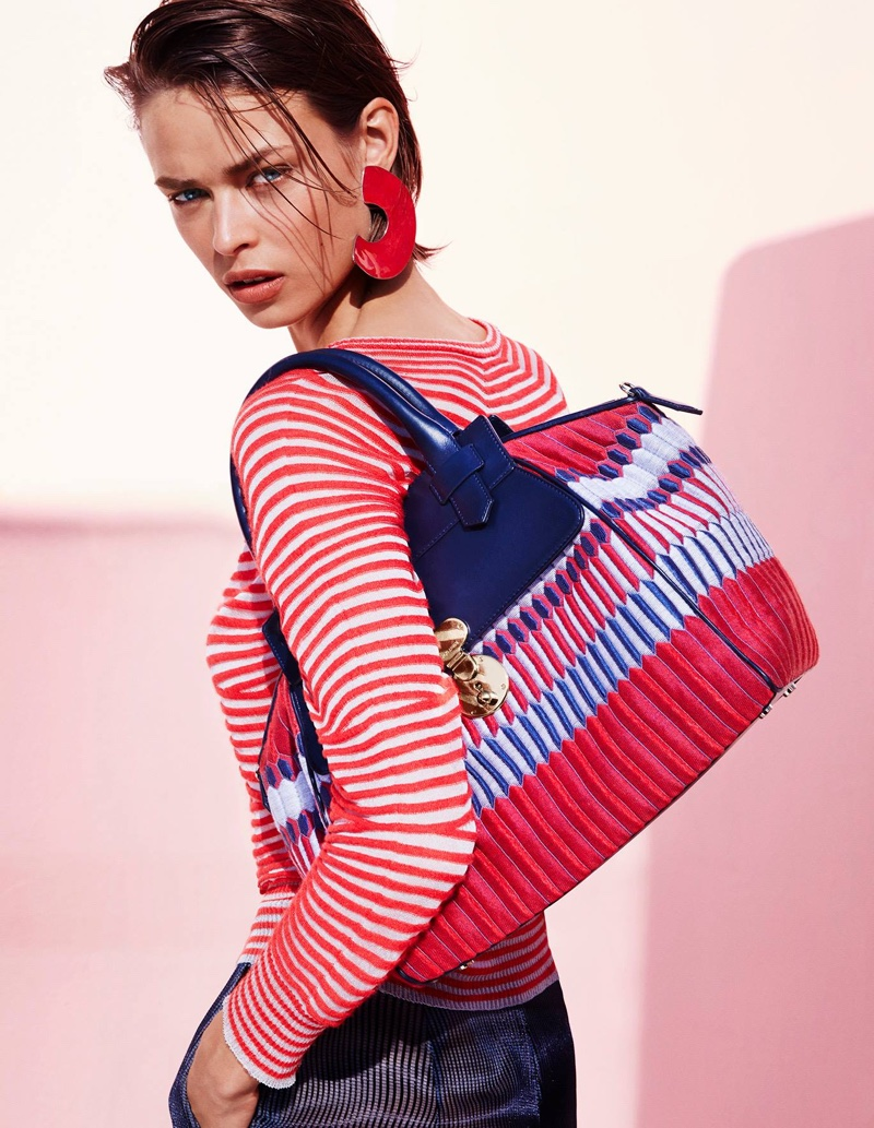 41a96a42d412 Giorgio Armani Focuses on Prints with Spring 2016 Campaign