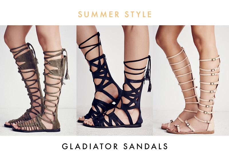 bc501da4b6f0 Gladiator Sandals Spring   Summer 2016 Shop