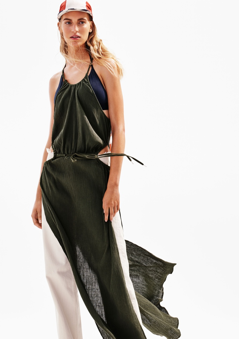 H&M Studio Does Sporty Beach Looks For Spring 2016