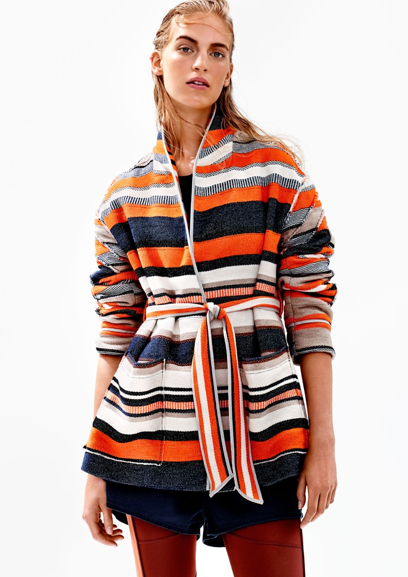 A look from H&M Studio's spring 2016 collection
