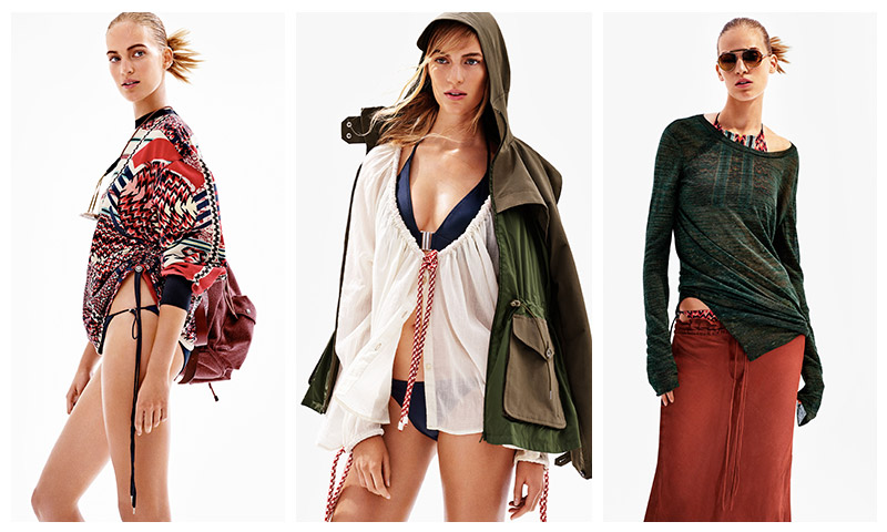 H&M Studio Does Sporty Beach Looks for Spring '16