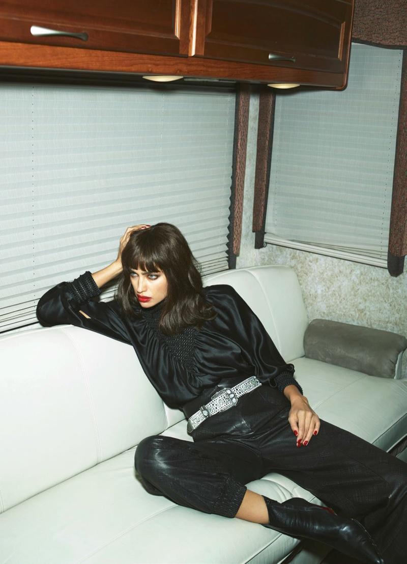 Irina Shayk Gets Bangs for Her Vogue Paris Debut