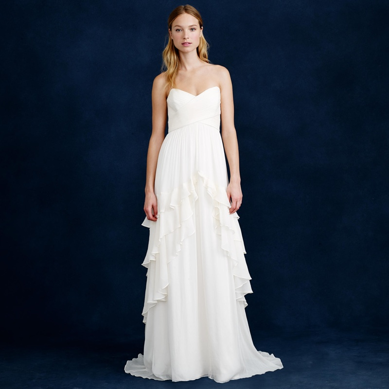 J crew wedding dress sale 2016 for J crew beach wedding dress