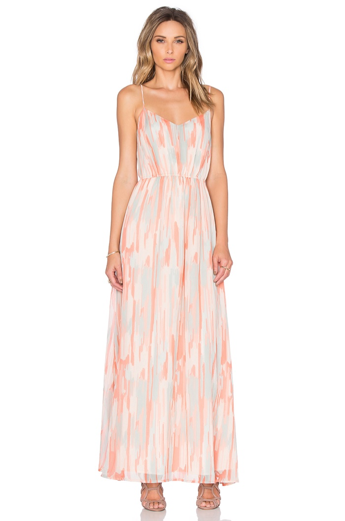 Jack by BB Dakota Hildy Maxi Print Dress