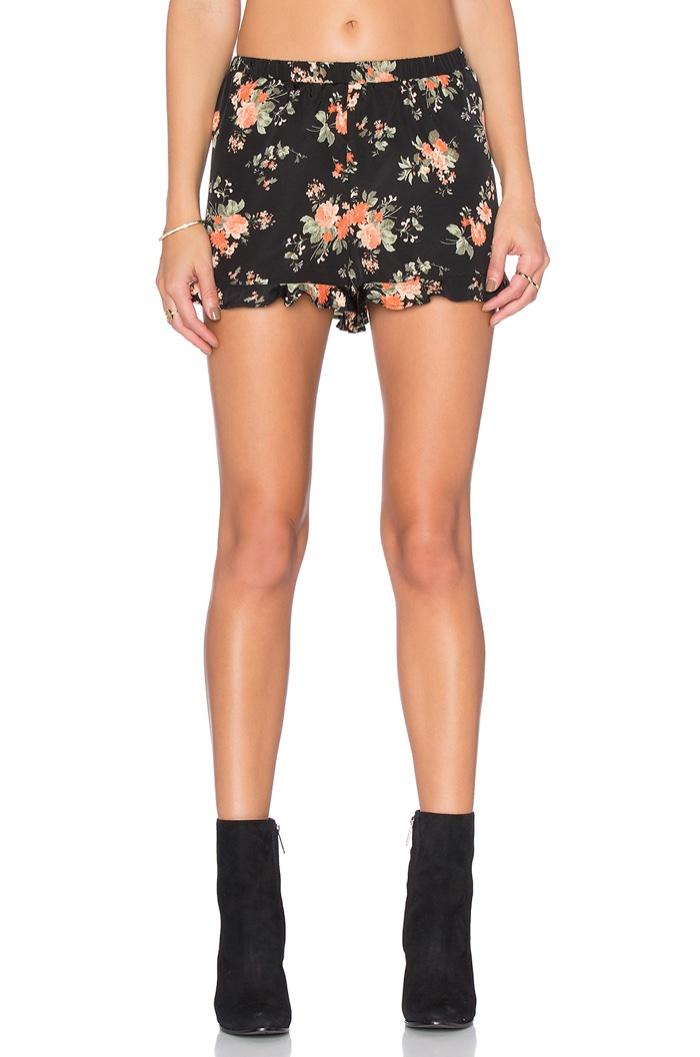 Jack by BB Dakota Rudie Floral Shorts