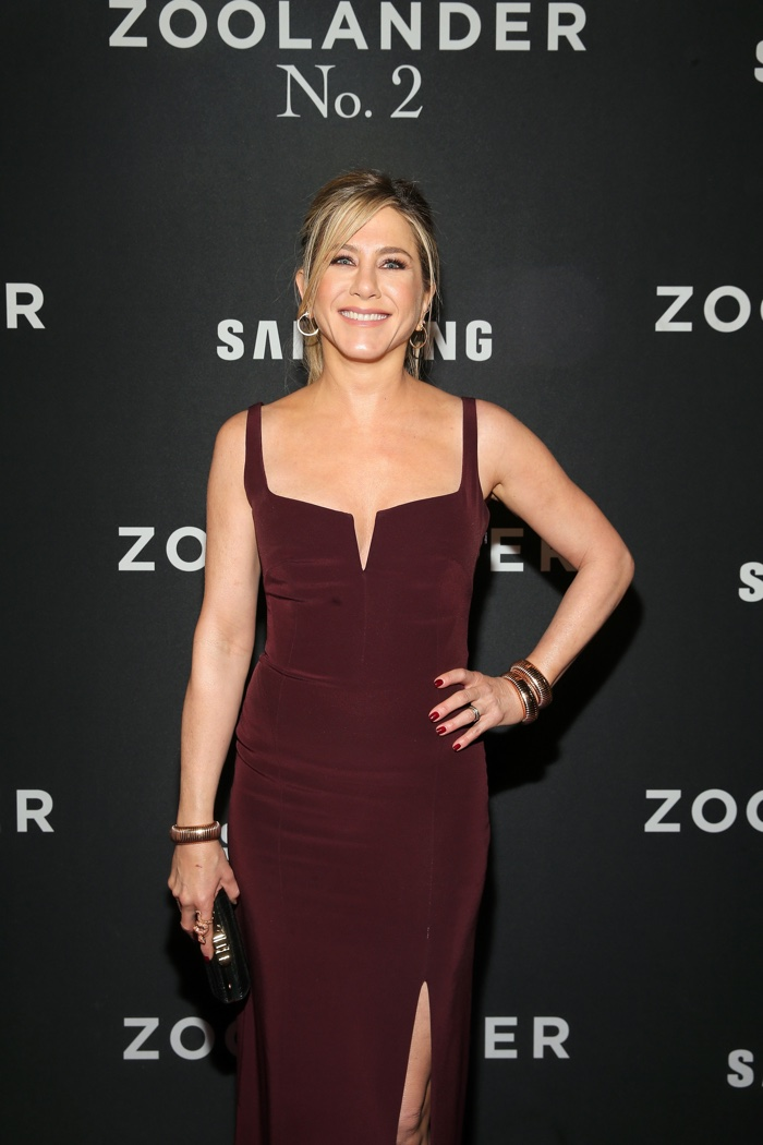 Jennifer Aniston attends the New York premiere of Zoolander 2. Photo: Getty Images for Paramount