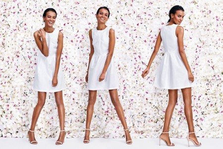 Karlie Kloss Embraces the Floral Trend for Joe Fresh's Spring Ads