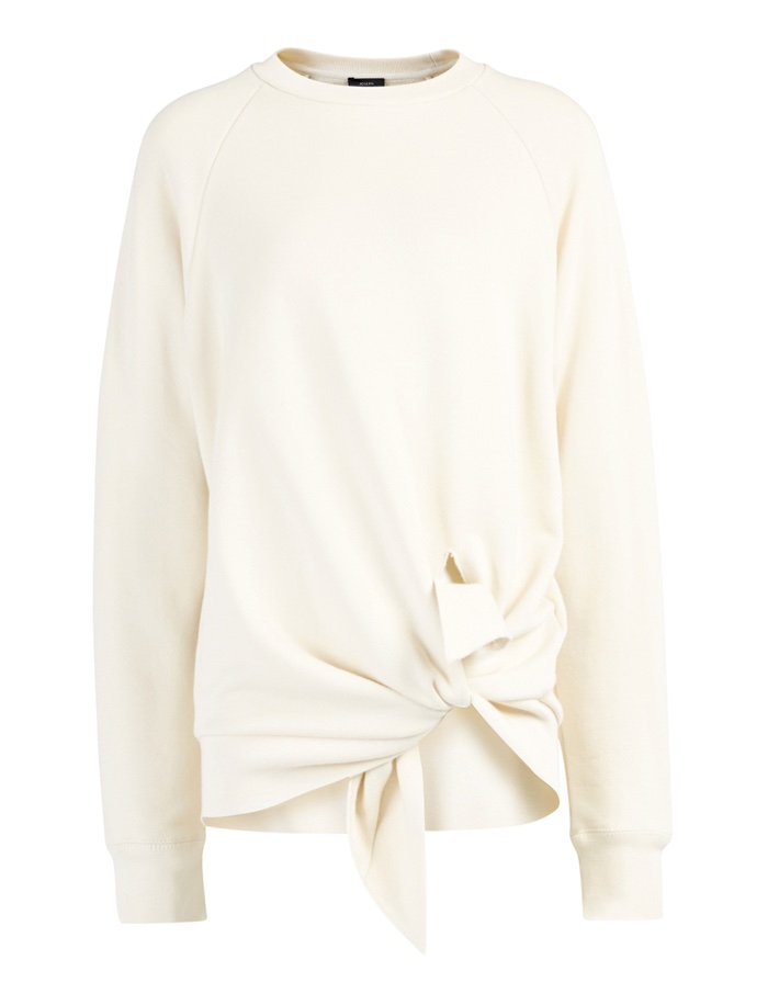 Joseph Loop Back Knot Sweater