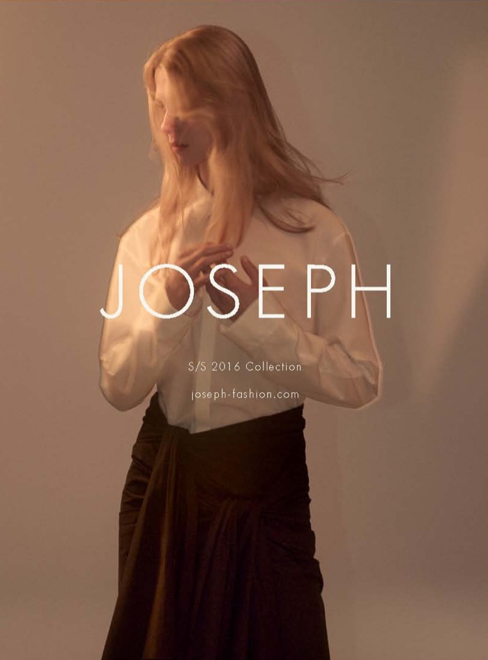 An image from Joseph's spring-summer 2016 campaign