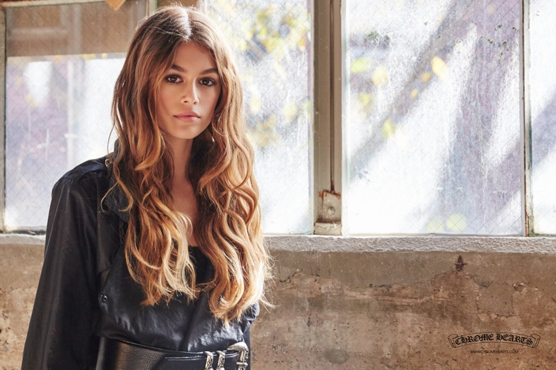 Kaia Gerber Looks Just Like Her Supermodel Mom in New Campaign