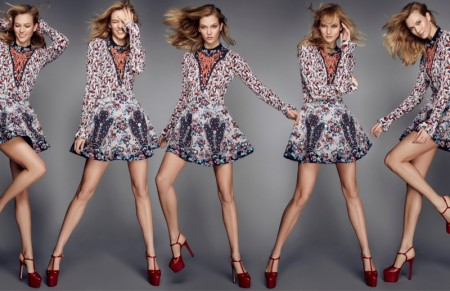 Karlie Kloss Rocks Glamorous Spring Looks in ELLE UK Cover Story