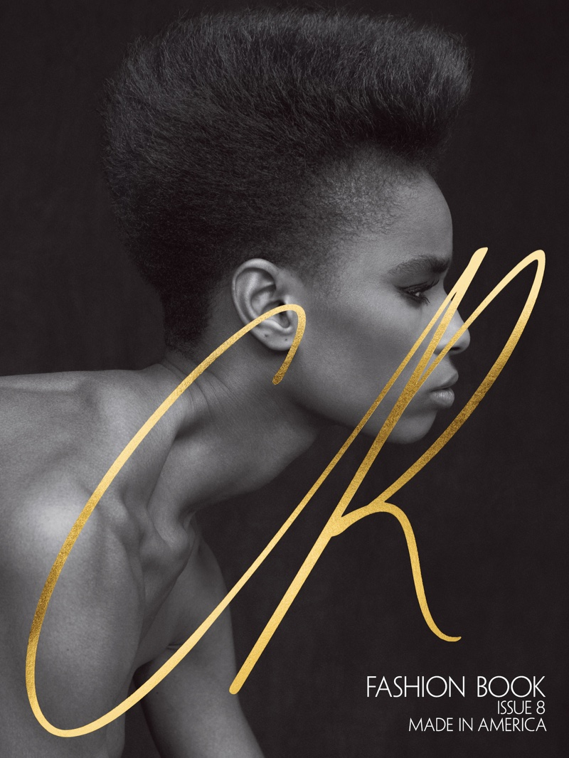 Kayla Scott on CR Fashion Book #8 Cover. Photo: Rory van Millingen
