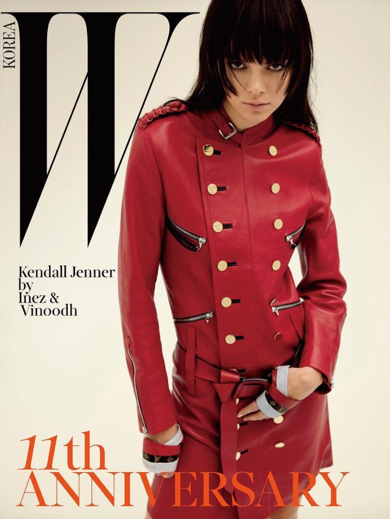 Kendall Jenner on W Korea March 2016 Cover
