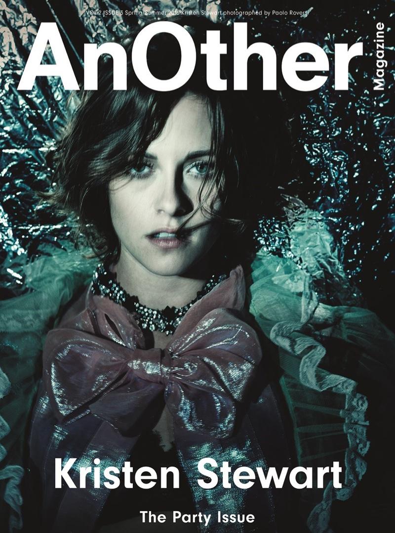 Kristen Stewart on AnOther Magazine spring/summer 2016 cover