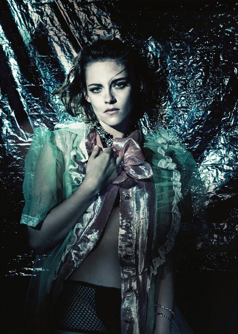 Kristen Stewart poses for Paolo Roversi in the photo session