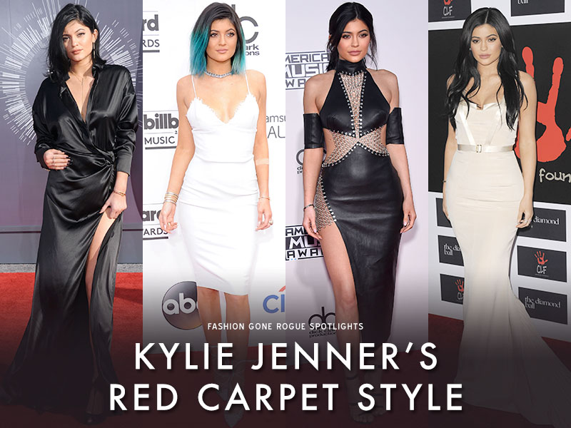 See Kylie Jenner`s Red Carpet Style Transformation