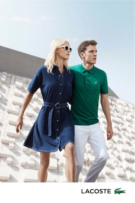 An image from Lacoste's spring-summer 2016 advertising campaign