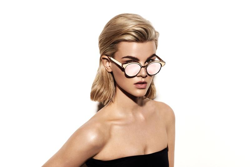 Channel Sci-Fi Chic In Le Specs Latest Sunglasses