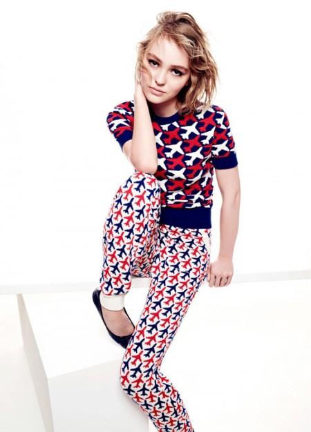 Lily-Rose Depp Stars in Vanity Fair & Talks Acting