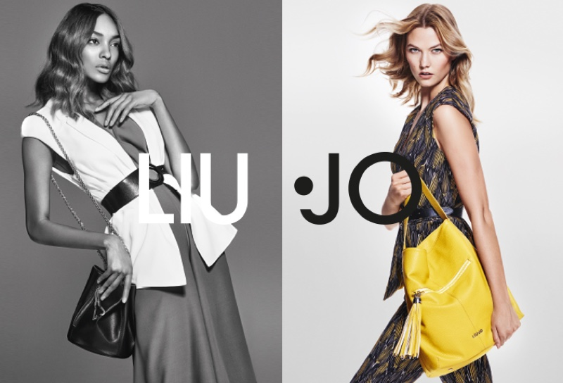 Karlie Kloss & Jourdan Dunn Reunite for Liu Jo's Spring 2016 Ads