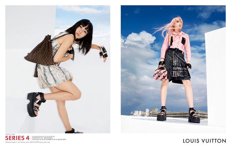 Fernanda Ly and Doona Bae star in Louis Vuitton's spring-summer 2016 campaign photographed by Juergen Teller