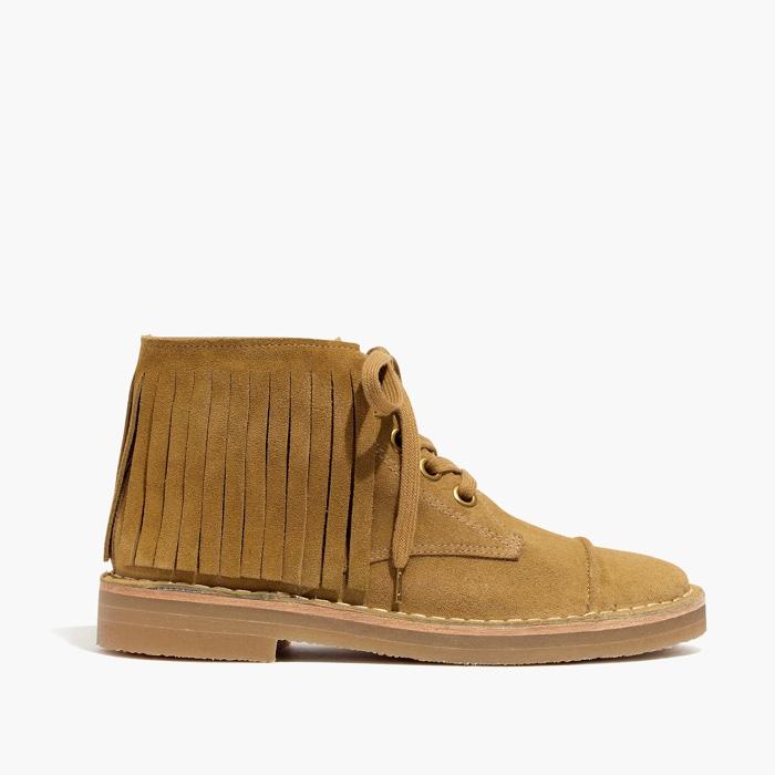 Madewell x Daryl K Shawna Fringe Boots