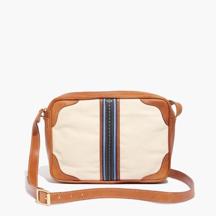 Madewell x Daryl K Striped Canvas Cross Bodybag
