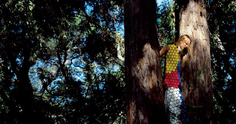 Marni sets its spring-summer 2016 campaign in a forest setting