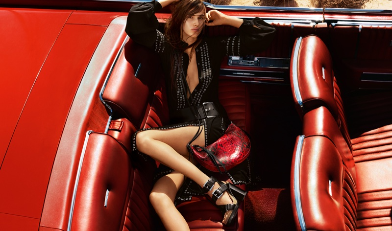 Michael Kors Features Convertible Style with Spring 2016 Ads